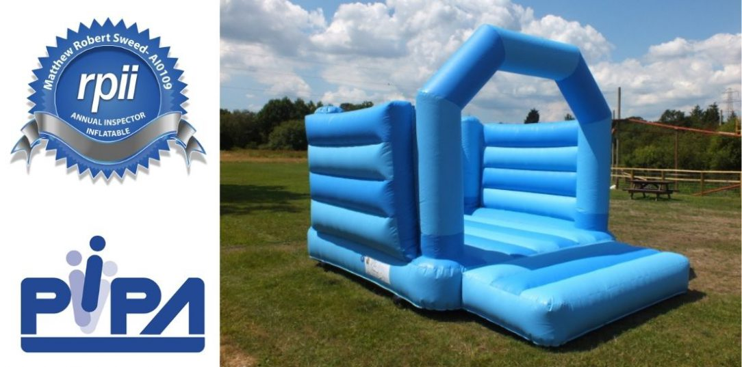 Pipa bouncy castle health and safety